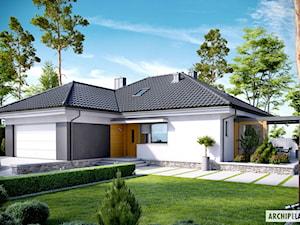 Projekt domu Astrid (mała) G2 – stylowo, lekko, nowocześnie