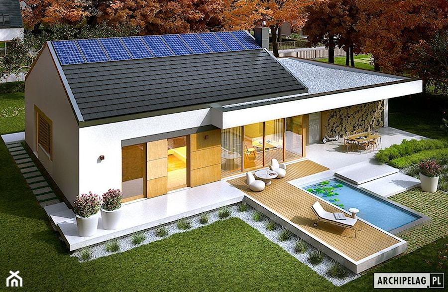 Projekt domu EX 11 G2 (wersja C) - zdjęcie od ARCHIPELAG Pracownia Projektowa