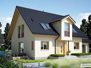Projekt domu E5 G1 ECONOMIC (wersja C)