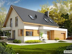 Projekt domu Patryk G1 - rodzinny i wygodny