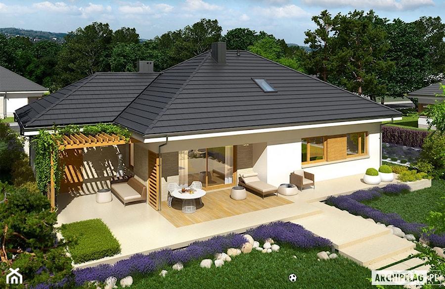 Projekt domu Flo III G1 - zdjęcie od ARCHIPELAG Pracownia Projektowa