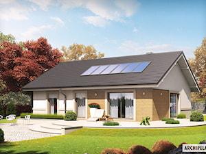 Projekt domu Kornel ENERGO - zdjęcie od ARCHIPELAG Pracownia Projektowa