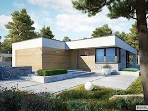 Projekt domu EX 21 G2 SOFT z zielonym dachem