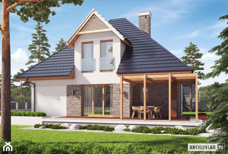 Projekt domu Tilda G1 - Domy - zdjęcie od ARCHIPELAG Pracownia Projektowa