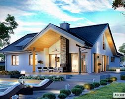 Projekt+Domu+Simon+G2+-+Widok+Od+Strony+Ogrodu+-+zdj%C4%99cie+od+ARCHIPELAG+Pracownia+Projektowa