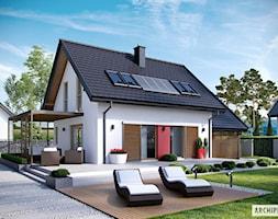 Projekt+domu+Lea+II+(z+wiat%C4%85)+-+zdj%C4%99cie+od+ARCHIPELAG+Pracownia+Projektowa