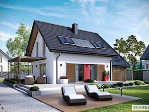 Projekt domu Lea II (z wiatą) - zdjęcie od ARCHIPELAG Pracownia Projektowa