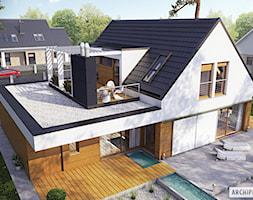 Projekt+domu+Neo+G1+ENERGO+-+widok+z+g%C3%B3ry+-+zdj%C4%99cie+od+ARCHIPELAG+Pracownia+Projektowa