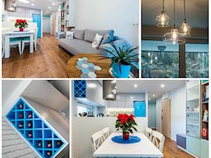 """Nowoczesne mieszkanie """"Niebieskie"""""""