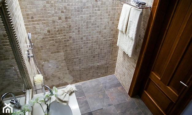 mała łazienka z prysznicem aranżacje