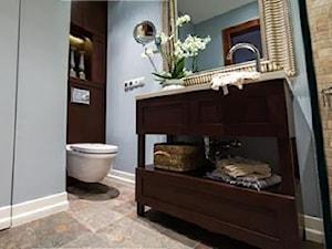 Stylizowana łazienka