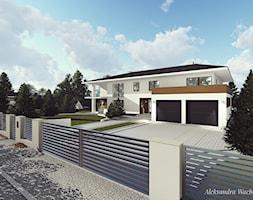 Projekt ogrodzenia przed domem. - zdjęcie od Aleksandra Wachowicz - Homebook