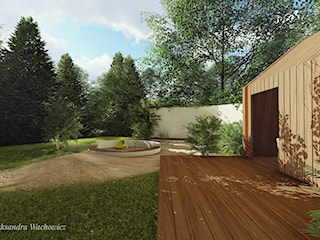 Projekt ogrodu z klimatem Mazur.