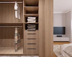 Dom w Maciejowicach pow. 120 m2 - Garderoba, styl nowoczesny - zdjęcie od 4ma projekt - Homebook