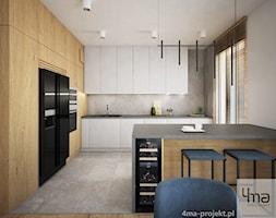 Mieszkanie o pow. 129 m2 - Nova Królikarnia - Kuchnia, styl nowoczesny - zdjęcie od 4ma projekt