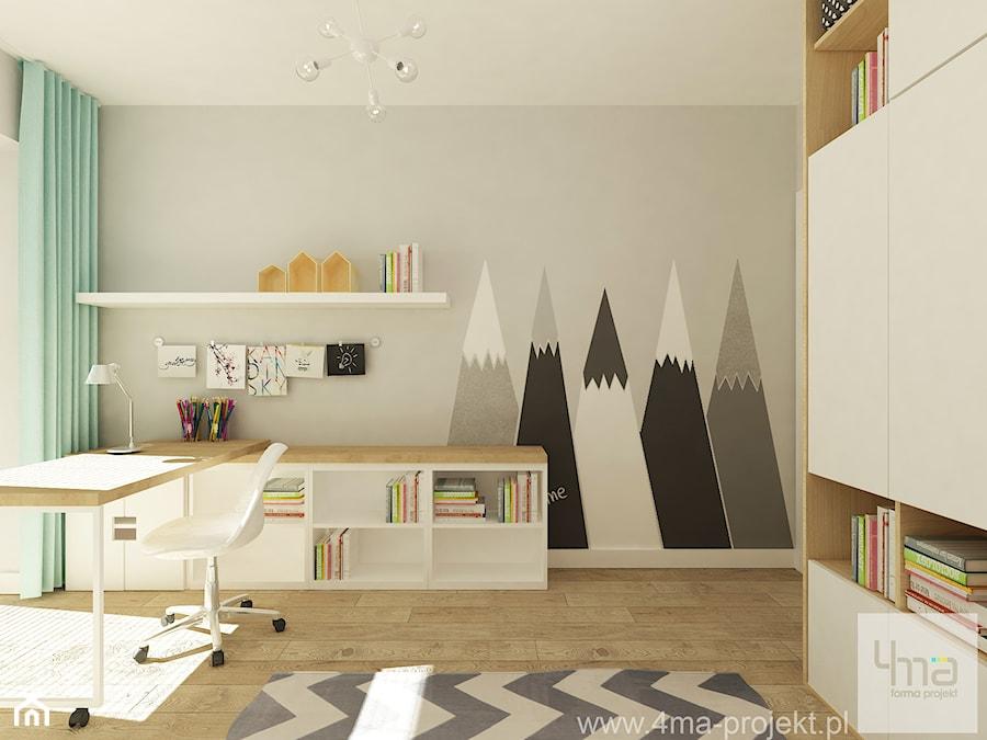 Pokój dziecka, styl nowoczesny - zdjęcie od 4ma projekt