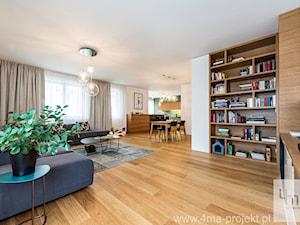 Projekt mieszkania 160 m2 na Mokotowie.