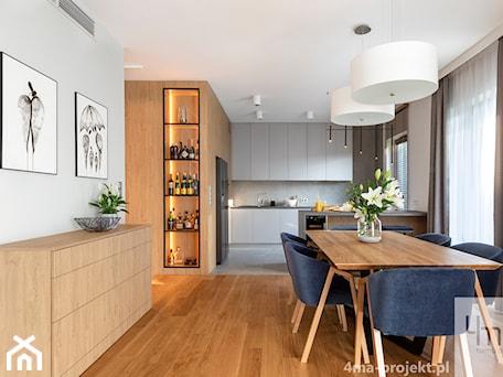 Aranżacje wnętrz - Jadalnia: Mieszkanie o pow. 129 m2 - Mokotów - Jadalnia, styl nowoczesny - 4ma projekt. Przeglądaj, dodawaj i zapisuj najlepsze zdjęcia, pomysły i inspiracje designerskie. W bazie mamy już prawie milion fotografii!