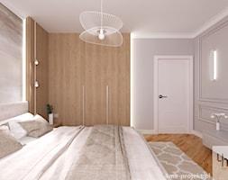 Dom w Maciejowicach pow. 120 m2 - Sypialnia, styl eklektyczny - zdjęcie od 4ma projekt - Homebook