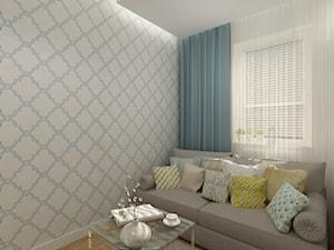 Projekt mieszkania 78 m2 na Woli. - Biuro, styl eklektyczny - zdjęcie od 4ma projekt