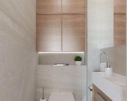 Dom w Maciejowicach pow. 120 m2 - Łazienka, styl nowoczesny - zdjęcie od 4ma projekt - Homebook