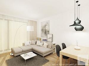 Projekt mieszkania 53 m2 na Żoliborzu