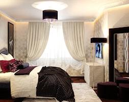 Średni beżowy pokój dziecka dla dziewczynki dla nastolatka, styl art deco - zdjęcie od Gerasim Trubchik