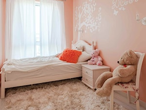 Pomarańczowy pokój dziecięcy