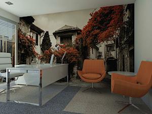Pomarańcz w biurze