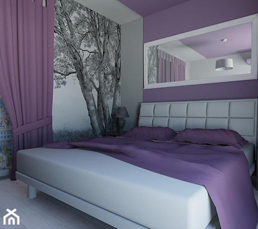 fioletowa sypialnia ideabook użytkownika carolineart
