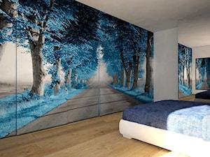 Sypialnia ombre