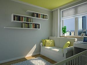 Cytrynowy pokój dziecinny.