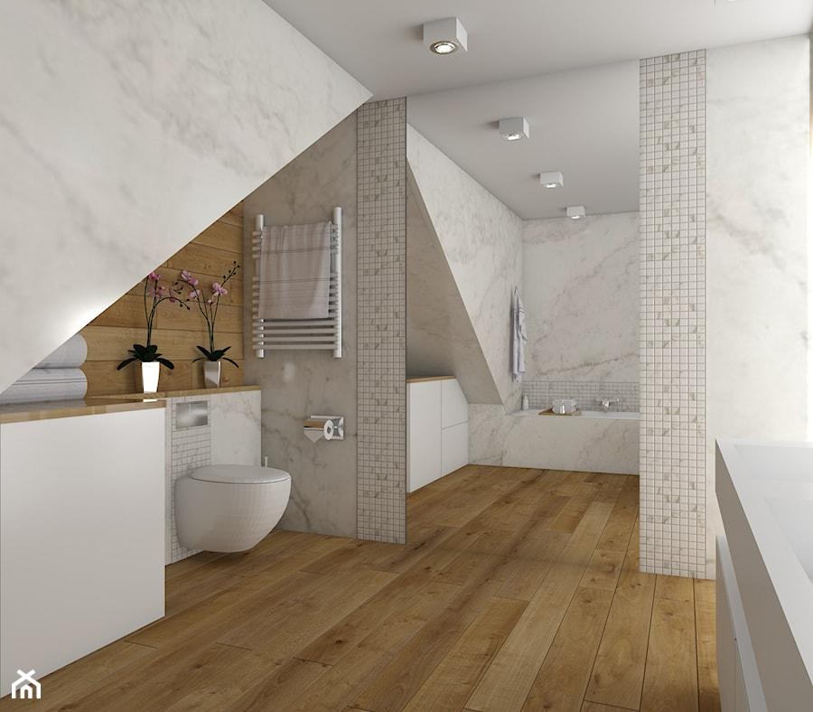 łazienka Marmur I Drewno Zdjęcie Od Carolineart Homebook