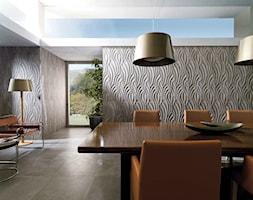 Ściana: VENIS Rhin Taupe - zdjęcie od GALERIE VENIS DESIGN STUDIO - Homebook