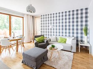 Nowoczesne mieszkanie z barwnymi akcentami