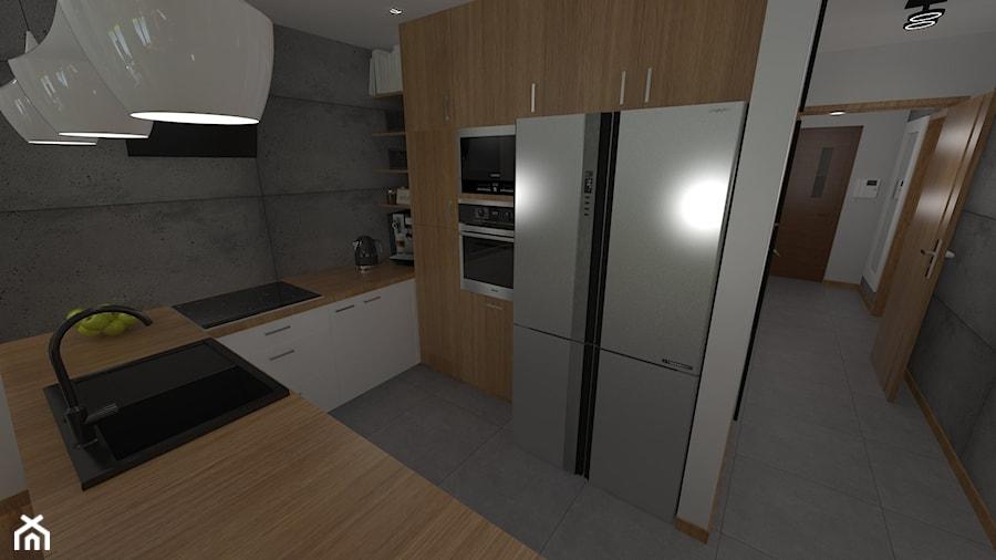 DOM W CHORZOWIE - Kuchnia, styl nowoczesny - zdjęcie od Architekt Anna Maj