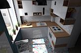mozaika na podłodze w kuchni