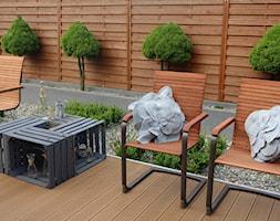 na Słonecznej - Średni taras z tyłu domu - zdjęcie od kamila_lbn - Homebook