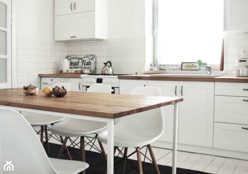 Wnętrze kuchni skandynawskiej - zdjęcie od SFD meble