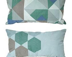 """Poduszka z dwustronnym nadrukiem """"Geometrics"""" 60 x 30 cm HK Living - zdjęcie od Pufa Design"""