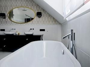 aranżacje wnętrz / projekt salonu kąpielowego