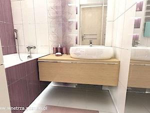 Mała, ale jasna łazienka