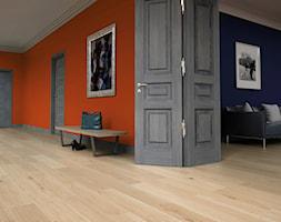 THE MIRACLES COLLECTION - Duży pomarańczowy hol / przedpokój, styl minimalistyczny - zdjęcie od Baltic Wood