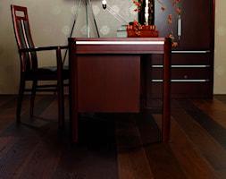 FASHION COLLECTION - Średnie żółte biuro domowe w pokoju - zdjęcie od Baltic Wood