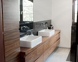 Elegancka czarno-szara łazienka - zdjęcie od Home-look