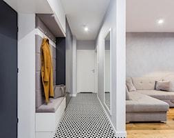Mieszkanie Praga Południe - Hol / przedpokój, styl nowoczesny - zdjęcie od Kameleon - Kreatywne Studio Projektowania Wnętrz - Homebook