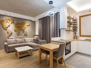Architekt radzi: Jak połączyć kuchnię z salonem?