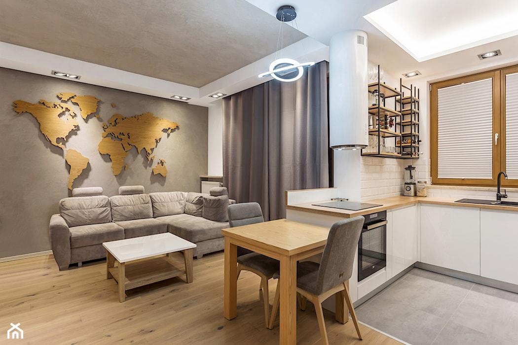 Architekt Radzi Jak Połączyć Kuchnię Z Salonem Homebook
