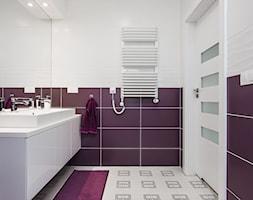 Fioletowa łazienka Aranżacje Pomysły Inspiracje Homebook