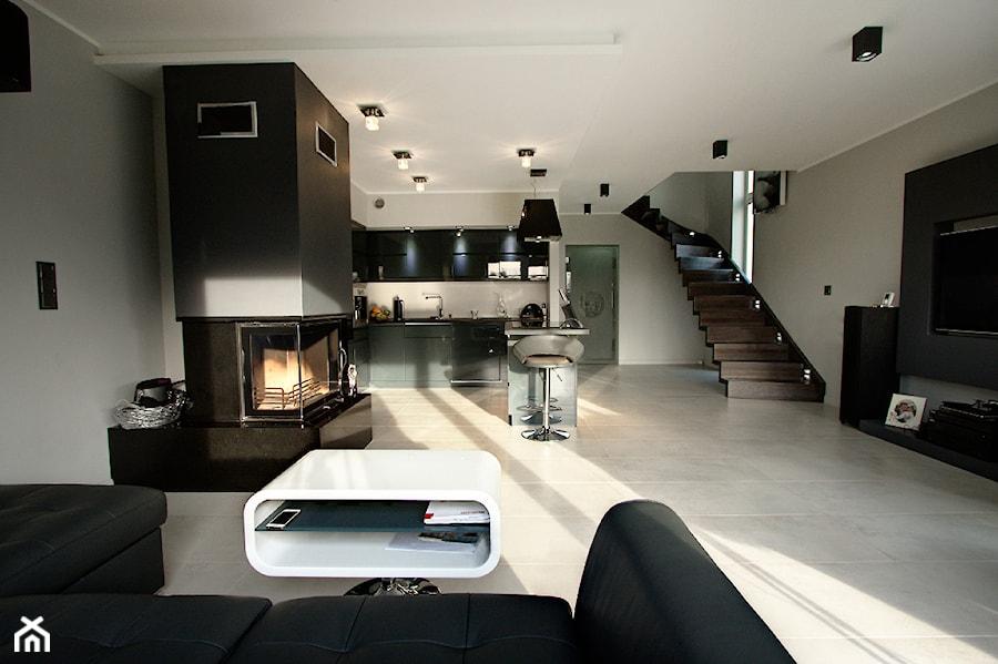 Elegancki apartament - otwarta przestrzeń - zdjęcie od Kameleon - Kreatywne Studio Projektowania ...